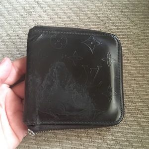 LV small zippy wallet